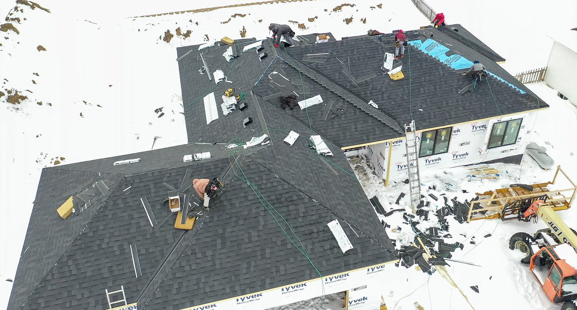 Redlion New Roof Installation